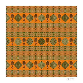 Ethnic africana tribal pattern.