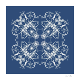 Baroque style pattern