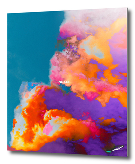 Nuage, colorful clouds in the sky