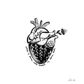 Done with Heart