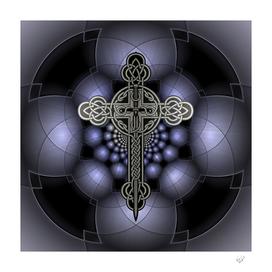 Celtic steel cross