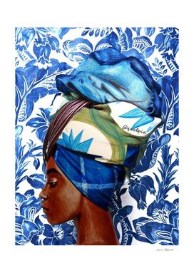 Turban lady