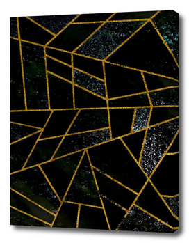 Abstract #488 Onyx, Marble & Volcanic Ash