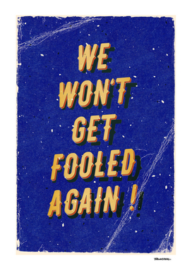 We won't get fooled again – A Hell Songbook Editio