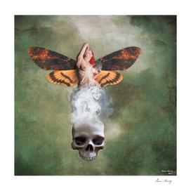 Death moth Goddess