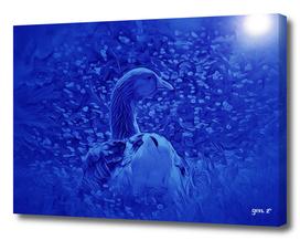 Oie dans les jardins de Carrouges by GEN Z