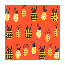 Pineapples pattern