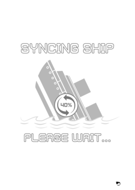 syncing ship