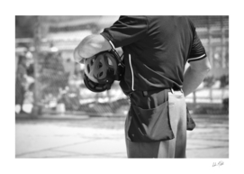 Umpire in Black and White