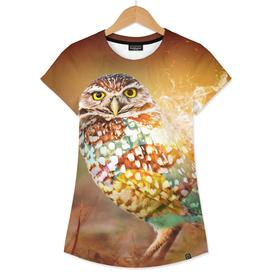 Owl on Fire by GEN Z