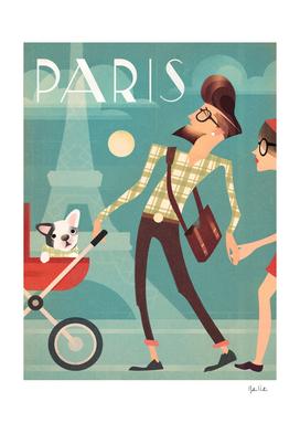 Paris Vintage Travel
