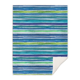 Seamless blue green watercolor background