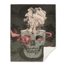 Red Fish and Smokey Skull