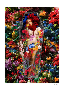My Coffin Full of Flowers That I Lay In It