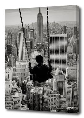 Playground swings by GEN Z