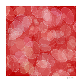 Bokeh style red texture