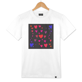 Imperfect Hearts - Color/Black