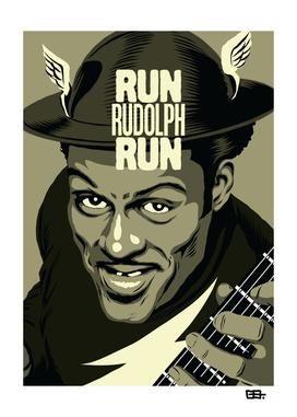 Run Rudolph Run - The Golden Age B&W Version
