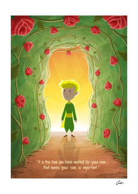 The Little Prince and The Roses