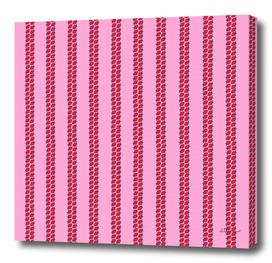 Strawberry Stripes Pattern - StripesV/PINK
