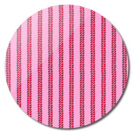 Strawberry Stripes Pattern - StripesV/PINK