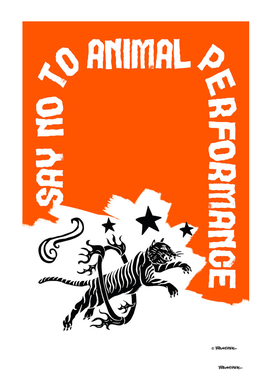 Say NO to Animal Performance – Tiger Ring of Fire
