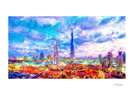 Artistic VII  - Dubai Cityscape / NE