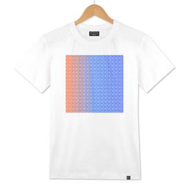 Imperfect Hearts Spectrum Pattern - White/Spectrum2