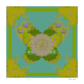 Moth Wing Kaleidoscope