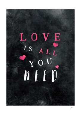 Love is all you need #motivationialquote