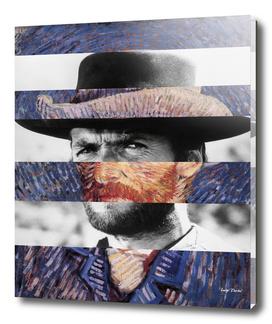 Van Gogh's Self Portrait & Clint Eastwood
