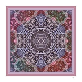 The Nwyfre Druid Mandala - Pink