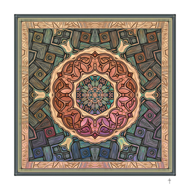 Mystic Sufi Mandala - The Desert Rose