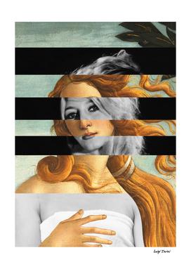 Botticelli's Venus & Brigitte Bardot