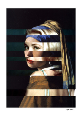Vermeer's Girl with a Pearl Earring & Grace Kelly