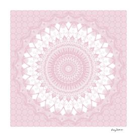 Boho Pink Mandala