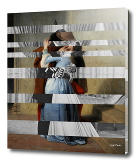 Hayez's The Kiss & Clark Gable and Vivien Leigh
