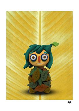 Leaf kid