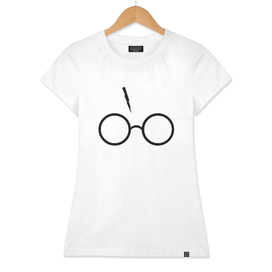Harry Potter Inspired Lightning Glasses Symbol