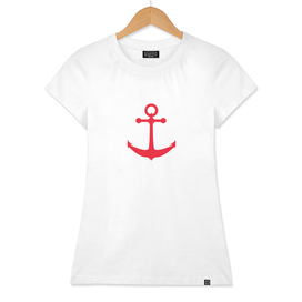 AFE Nautical Red Ship Anchor