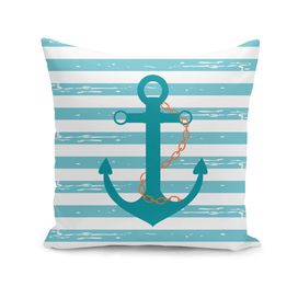 AFE Nautical Teal Ship anchor