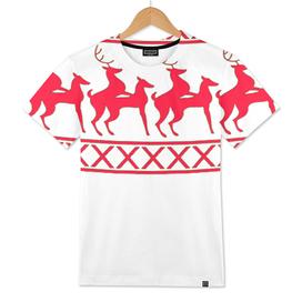 Humping Reindeer Ugly Christmas Sweatshirt
