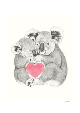 Koalas Love Hugs
