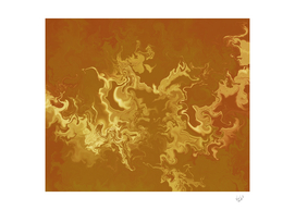 Dragon fire abstract