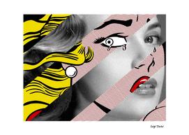 Roy Lichtenstein's Crying Girl & Grace Kelly