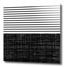 platno (with black stripes)