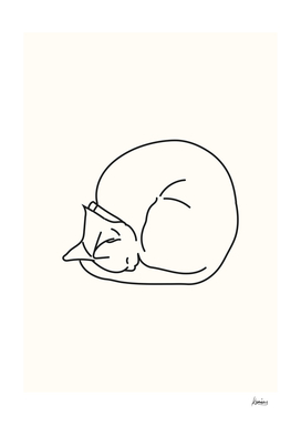 Sleeping Cat #3