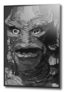 Gill Man (Black & White)