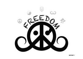 freedom 2o (black/white)