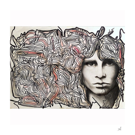 Cerebral freedom (Ode to Jim Morrison)
